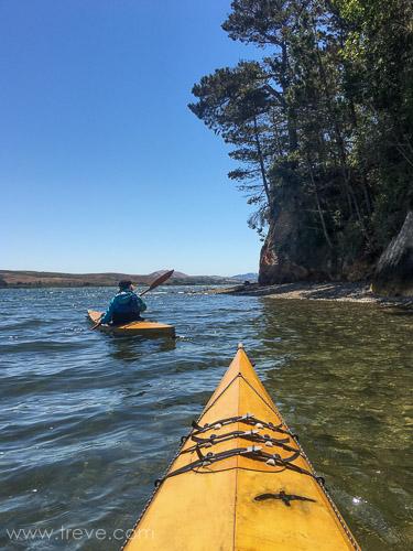 Kayaking on Tomales Bay