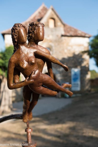 Sculpture by Christophe Cayla