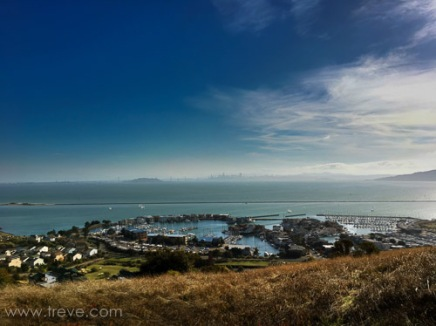 View from the ridge at Miller/Knox Regional Shoreline