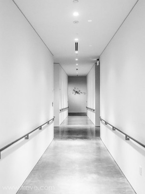 Hallway. Berkeley Art Museum and Pacific Film Archive. BAMPFA