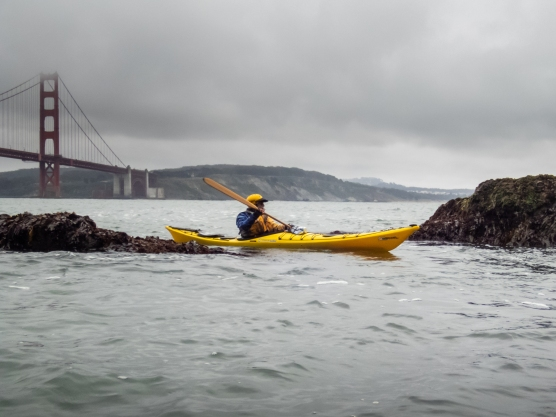 Paddle out the Golden Gate to Point Bonita.