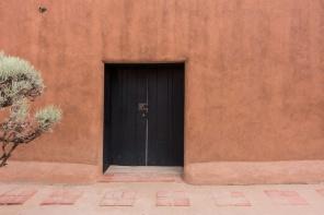 Georgia O'Keeffe's house at Abiquiu, New Mexico