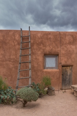 Georgia O'Keeffe's house at Abiquiu, New Mexico