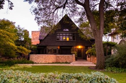 Frank Lloyd Wright's House in Oak Park.