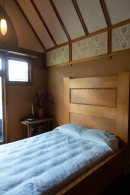 Bedroom. Frank Lloyd Wright's Oak Park house.