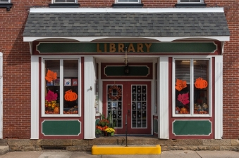 Public library in Dunbar, PA.